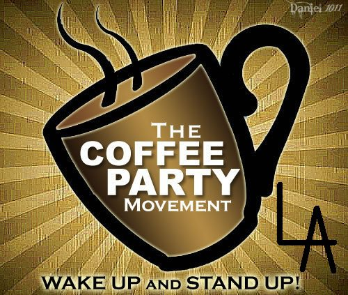 Coffee Party LA logo