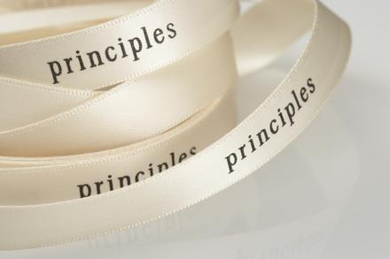 principles ribbon